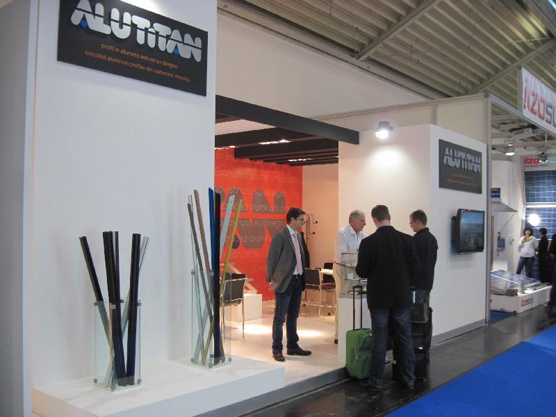 Alutitan has partecipated to INTERSOLAR EUROPE 2012, Munich, Germany, 13-15 June 2012