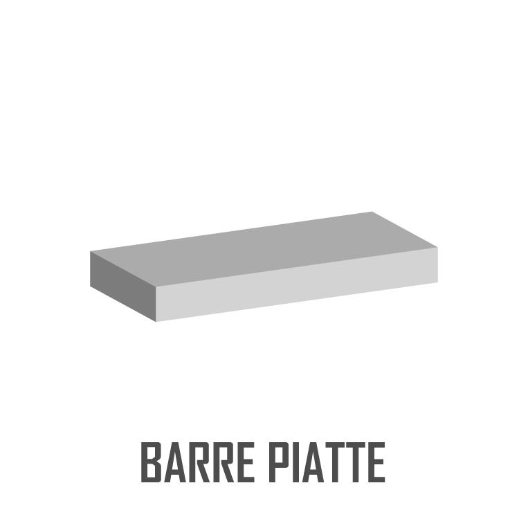 BARRE PIATTE