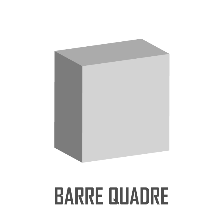 BARRE QUADRE