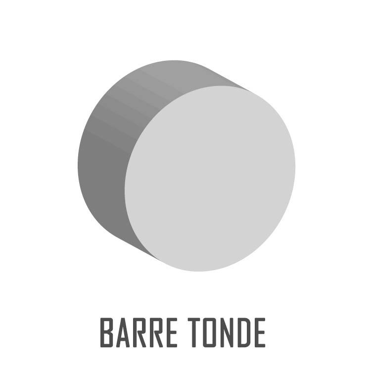BARRE TONDE